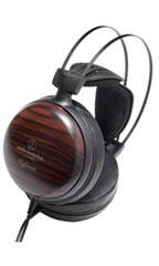 Casque Audio-Technica ATH-W5000 Noir et Marron
