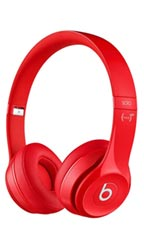 Casque Beats By Dre Solo 2  Rouge