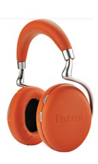 Casque Parrot Zik 2.0 by Starck Orange