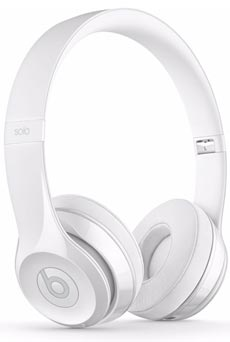 Beats By Dre Solo3 Wireless Gloss White
