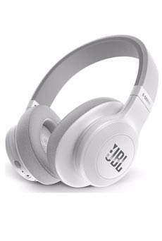 JBL E55 Bluetooth Blanc