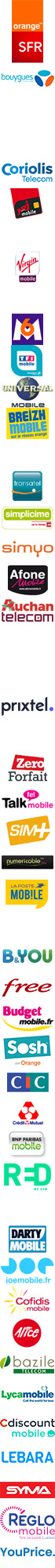 forfait Virgin Mobile IDOL S - 100 Mo 1h Sans engagement