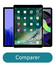 Comparer les tablettes
