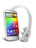 HTC Sensation XL avec Beats Audio Blanc