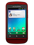 Alcatel OT-918D Rouge