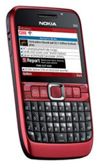 Smartphone Nokia E63 Ruby Red