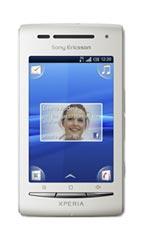 Smartphone Sony Ericsson Xperia X8 Blanc