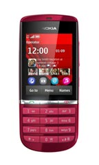 Mobile Nokia 300  Rouge