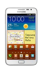 Samsung Galaxy Note Blanc