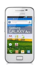 Smartphone Samsung Galaxy Ace S5830 Pure White