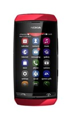 Mobile Nokia Asha 305 Rouge