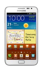 Smartphone Samsung Galaxy Note Blanc Occasion