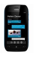 Smartphone Nokia Lumia 710 Noir Occasion