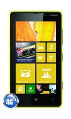 Smartphone Nokia Lumia 820 Jaune