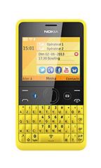 Mobile Nokia Asha 210 Double Sim Jaune