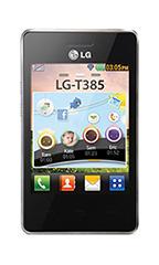 Mobile LG T385 Noir
