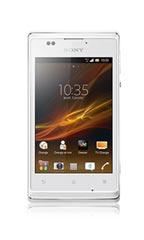 Smartphone Sony Xperia E Blanc Occasion