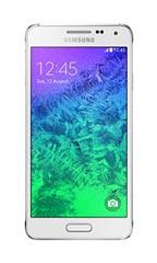Samsung Galaxy Alpha Blanc