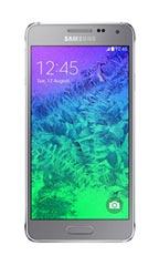 Smartphone Samsung Galaxy Alpha Argent