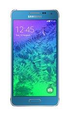 Smartphone Samsung Galaxy Alpha Bleu