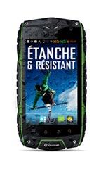 Smartphone Crosscall Odyssey+ Vert