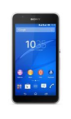 Smartphone Sony Xperia E4G Double Sim Blanc