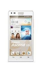 Smartphone Huawei Ascend G6 4G Blanc