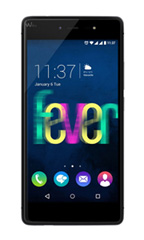 Smartphone Wiko Fever 4G Noir et Gris