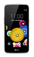 Smartphone LG K4 Blanc