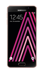 Smartphone Samsung Galaxy A3 (2016) Rose