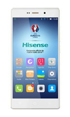 Smartphone Hisense H910 Blanc