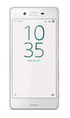Smartphone Sony Xperia X Blanc