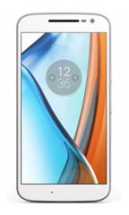 Smartphone Motorola G4 Blanc