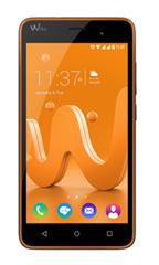 Smartphone Wiko Jerry Gris et Orange