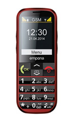 Mobile Emporia Eco Rouge