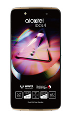 Smartphone Alcatel Idol 4 Or