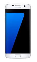 Smartphone Samsung Galaxy S7 Edge Occasion Blanc