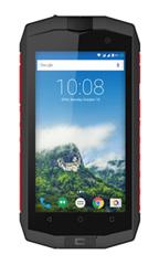 Smartphone Crosscall Trekker-M1 Anthracite et Rouge