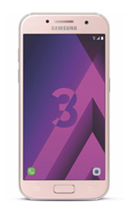 Smartphone Samsung Galaxy A3 (2017) Rose