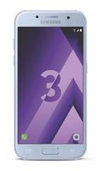 Smartphone Samsung Galaxy A3 (2017) Bleu