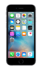 Téléphone Apple iPhone 6S 64Go Reconditionn� Gris Sid�ral