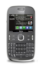 Nokia 302 Dark Grey