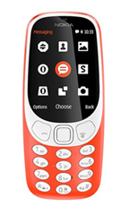 Mobile Nokia 3310 (2017)  Rouge