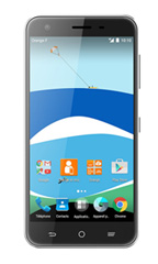 Smartphone Orange Dive 71 Noir