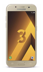 Smartphone Samsung Galaxy A3 (2017) Or