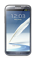 Smartphone Samsung Galaxy Note 2 16 Go Gris Occasion