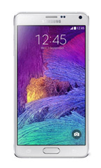 Smartphone Samsung Galaxy Note 4 Occasion Blanc