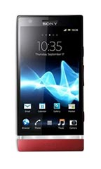 Smartphone Sony Xperia P Rouge