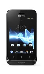 Smartphone Sony Xperia tipo Noir Occasion