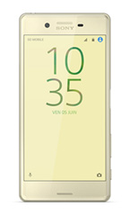 Smartphone Sony Xperia X 64Go Dual Sim Or Lime